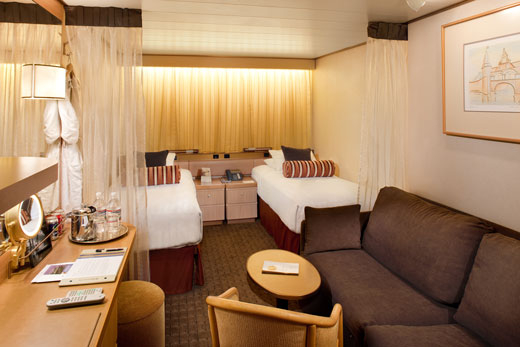 Large Interior Stateroom (L)