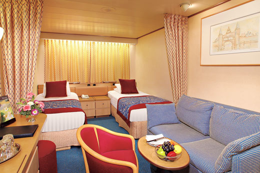 Large Interior Stateroom  (M)