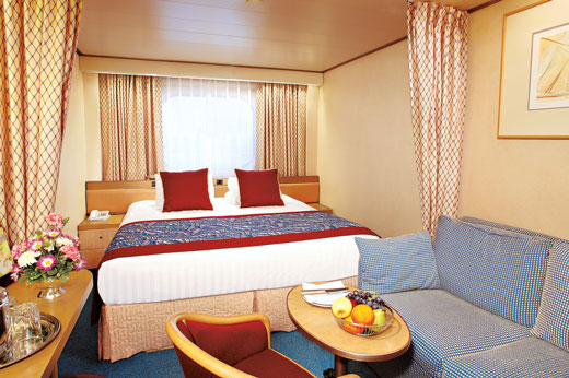Large Ocean-view Stateroom (Full Ocean-view) (DA)