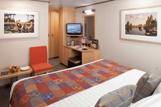 Large or Standard Interior Stateroom (K)