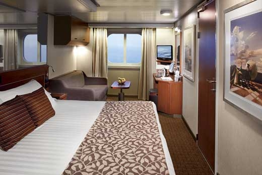 Large Ocean-View Stateroom (Partial Obstructed View) (G)