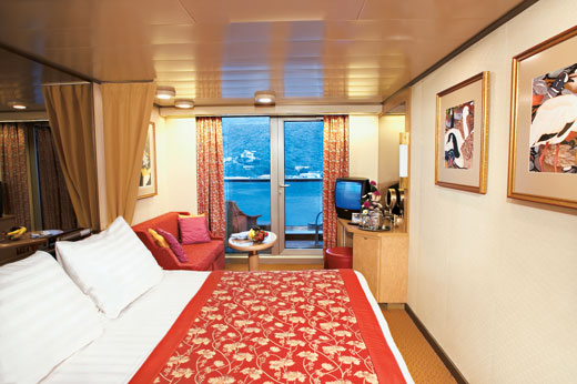 Verandah Staterooms (VE)