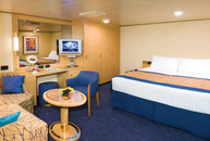 Large or Standard Interior Stateroom
