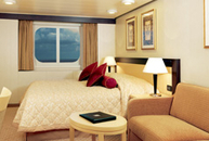 Ocean View Stateroom (Obstructed View) (C4)