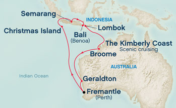 Indonesia - Roundtrip from Fremantle